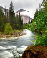 EL CAPITAN MERCED RIVER YOSEMITE